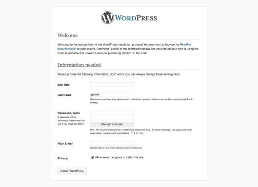 wordpress-setup